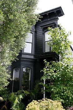 black decorating design house design home design Houses Architecture, Architecture Design, Black Architecture, Exterior Design, Interior And Exterior, Black Exterior, Future House, My House, Mesa Exterior