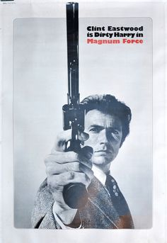 Dirty Harry Magnum Force Movie Poster