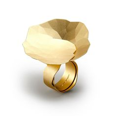 ORRO Contemporary Jewellery Glasgow - Niessing - Gold Topia Ring - 18ct yellow gold - Topia Ring