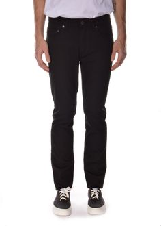 """Acne Studios - Spring Summer 2015 - Menswear // Super slim """"Ace Stay Cash"""" black jeans with a comfortable normal waist"""