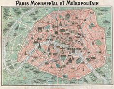 Plan de Paris 1932