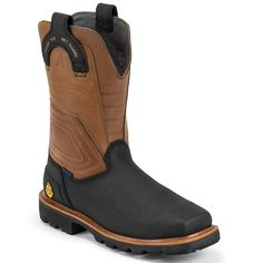 Cowboy Shoes, Mens Shoes Boots, Leather Boots, Men's Shoes, Tactical Shoes, Pull On Work Boots, Steel Toe Work Boots, Cool Boots, Fashion Shoes