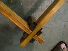 Here Is A Bed Frame Joinery Idea From My Teacher S Website