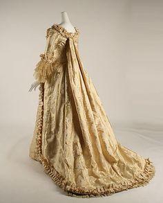 "Wedding Dress Early 1880s   MET """
