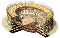 Amphitheatrum Flavium: I like the different interpretation of the Emperor's Box