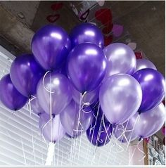 100 PCS latex balloon pearly luster many colors to choose birthday party DIY wedding decoration qq02