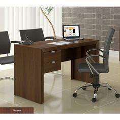 Mesa Área de Trabalho com Duas Gavetas (DL-264) - Ditália, $289