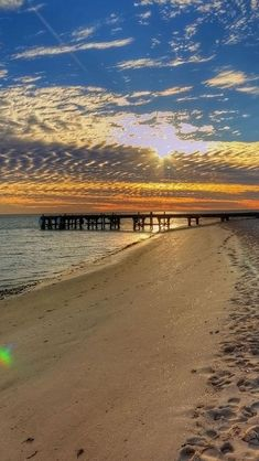 Monkey Mia, Beach, Sunrise, Western Australia.