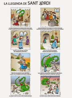 See related links to what you are looking for. George & Dragon, Saint George And The Dragon, St Georges Day, Saint Georges, Fire Kids, Dragons, Story Sequencing, Knight Party, Summer Crafts