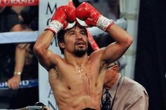 Champion again! Manny Pacquiao beats Timothy Bradley in unanimous decision, winning WBO Welterweight Title. Manny Pacquiao, Pacquiao Vs Bradley, Manny Pacman, Timothy Bradley, Boxing Images, Boxing Champions, Sport Inspiration, Floyd Mayweather, Sports Figures