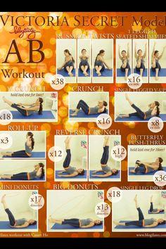 VS ab workout