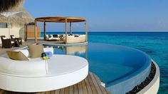 Fall in love with the view or eachother at the W Retreat & Spa, #Maldives!  #luxtravel