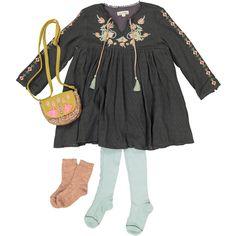 Louise Misha Embroidered Nadechka Dress-product