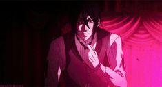 Sebastian Michaelis - Black Butler - Kuroshitsuji - Hot Demon Trash ♥ ~ Gif
