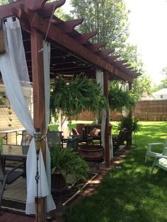 Another view of my pergola