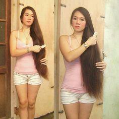 #longhair #longhairgoals #longhairdontcare #rapunzels #realliferapunzel #superlonghair #verylonghair #sexiesthair #rapunzelsfortress #longhairsociety #straighthair #brunette #blondegirl #californiagirls #finnishgirl #slavicgirl #polishgirl #italiangirl #serbiangirl #photomodel #pose #fierce #fitness #fitnessmotivation