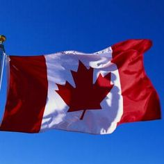 The Canadian Flag, may it ever fly free.