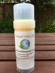 Natural Hard Lotion by PureNaturalElements on Etsy