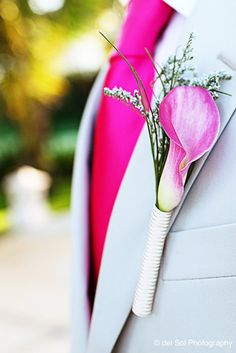 Groom's boutonnier