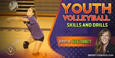 Volleyball Videos, Volleyball Skills, Volleyball Players, Video On Demand, Make Me Happy, Drill, Youth, Teaching, Sports