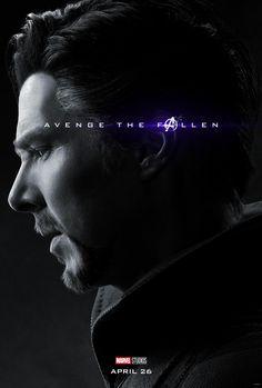 Avengers: Endgame 2019 Character Doctor Strange Avenge The Fallen Marvel Comic Movie Avengers 4 – Poster   Canvas Wall Art Print
