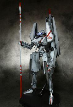 "Kotobukiya Tsugumori ""Knights of Sidonia"" Plastic Model Kit - paintjob by kuma32"