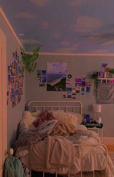 Indie Bedroom, Indie Room Decor, Cute Room Decor, Aesthetic Room Decor, Room Design Bedroom, Room Ideas Bedroom, Bedroom Inspo, Chill Room, Cozy Room