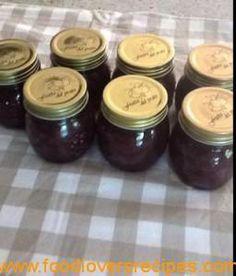 rooi uie marmelade