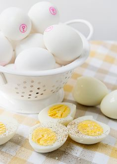 Always good to have on hand -  Hard Boiled Eggs Three Ways