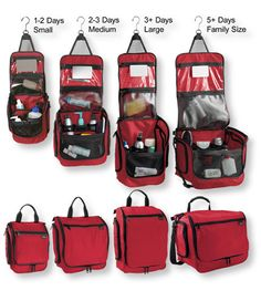 I Want to buy monogrammed ones for each of the boys. What colors? What size? Needs to be something they'll use for many yrs. Personal Organizer Toiletry Bag, Large: Toiletry Bags   Free Shipping at L.L.Bean