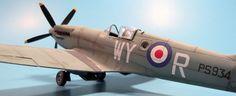 Build Report: Airfix's 1/48 Spitfire Mk. XIX - AgapeModels.com