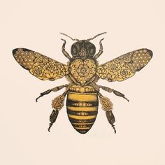 I have a deathly fear of bees...maybe getting a tattoo will help?