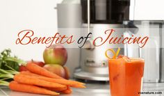 When done right, juicing can provide you with a ton of necessary nutrients in a convenient and tasty manner. Juice Fast, Juicing, Benefit, Carrots, Tasty, Canning, Vegetables, Health, Food