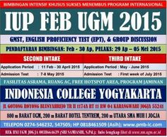 BIMBEL FEB UGM JOGJAKARTA: bimbingan feb iup ugm program jaminan start 29 apr...