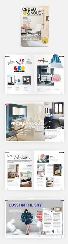 L'édition n°11 (automne 2014) de Cedeo&Vous, le magazine des tendances de la salle de bain #OPS2