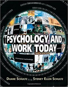 14 best psychology images on pinterest in 2018 test bank for psychology and work today 10th edition by duane schultz sydney ellen schultz fandeluxe Image collections
