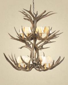Dimensions: Approximately Diameter / TallWe Ship NationwideProudly American Made in East Texas.Hand-made antler chandeliers begin with hand selected shed antlers (no deer are killed). All antler products are authentic.