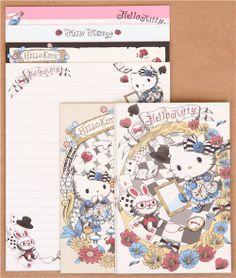 Hello Kitty Alice in Wonderland fairy tale letter Set