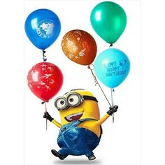 Happy birthday minions gif images memes pictures minions happy birthday images for kids children small kindergarten funny hilarious minions wishing happy birthday to you. Free Birthday Greeting Cards, Free Birthday Greetings, Happy Birthday Messages, Happy Birthday Minions Gif, Happy Birthday Pictures, Best Birthday Quotes, Partys, Minions Minions, Minions Quotes