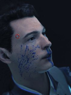 Detroit: Become Human, Connor nah, he didn't die. Luther, Geeks, Bryan Dechart, Quantic Dream, Detroit Become Human Connor, Becoming Human, I Like Dogs, Human Art, My Guy