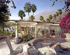 1950 ... 'Burgess House' - Palm-Springs - Albert Frey by x-ray delta one, via Flickr