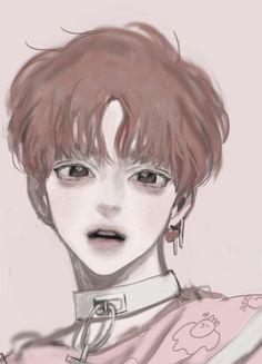 pinterest:@/rinitsuu 🌿 {pin is not mine, credit to owner} Anime Guys, Hot Anime Boy, Boy Illustration, Character Illustration, Kinder Art, Character Design, Character Art, Art Inspo, Art Reference