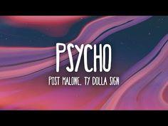 Post Malone - Psycho (Lyrics) ft. Ty Dolla $ign - YouTube