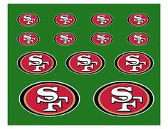 I am so excited that I found these free printables, must use for the Superbowl February 3, 2013