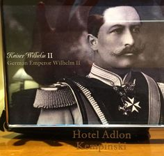 A framed picture of Willi (#kaisarwilhelm) in our room!  #howdidtheyknow #hollenzollern #royalprussia #princessvicky #queenvictoria #history http://ift.tt/1RkUwXV