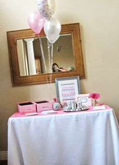 Shades of Pink & Gray Baby Shower Party Ideas | Photo 36 of 64 | Catch My Party