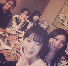 After School Takes Raina Out for Food and Drinks on Her Birthday Orange Caramel, May 7th, Sooyoung, After School, Girls Night Out, Beautiful Women, Female, Drinks, Lady