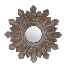Poconos Wooden Wall Mirror   Kirklands