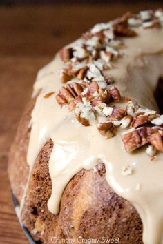 Apple Bundt Cake with Caramel Glaze - 15 Best Thanksgiving Desserts That Will Win Over Your Family