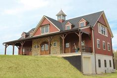 2 story pole barn homes - Google Search                                                                                                                                                     More